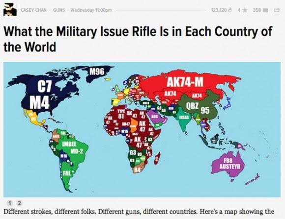 mapa venta armas