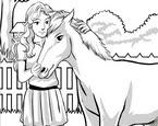 Güvenli Kız Ve At Boyama Oyunu Oyna