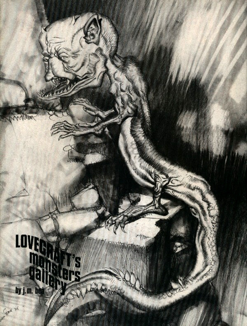 Josep M. Beá - Lovecraft Monster Gallery - 8