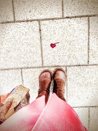 shoe per diem feb 15, 2014 - someone lost a heart