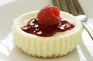Mini Raspberry Cheesecakes Image 1