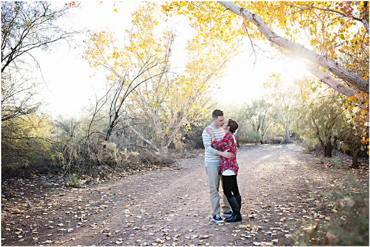 Lauren & Tyler's Engagement Session at Rio Salado | Phoenix, Arizona Engagement Photographer