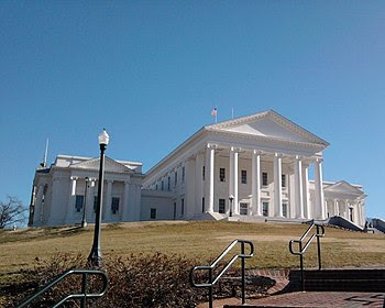 English: Virginia state capitol in Richmond. F...