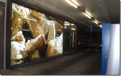 Niklaus Lenherr - City Parking - erster Leuchtkasten 3