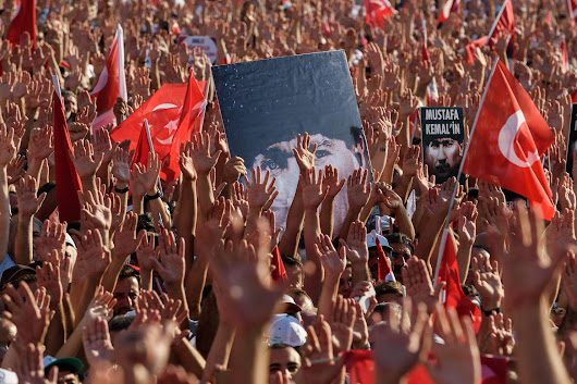In quest to punish coup plotters, Turkey squeezes out room for dissent