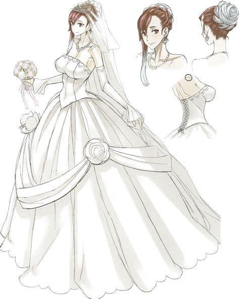 Image   VC3 Riela Wedding Dress Concept Art.png   Valkyria