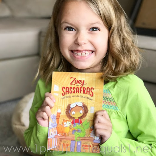 Zoey and Sassafras Book Review and Printables - 1+1+1=1