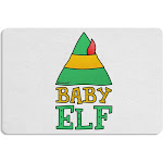 Matching Christmas Design - Elf Family - Baby Elf 12 x 18 Placemat by TooLoud Set of 4 Placemats