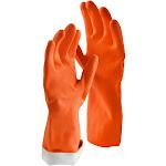 Libman 1325 Large Orange Premium Latex Gloves