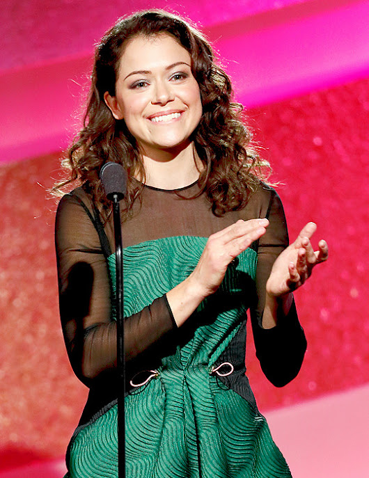 I'm gonna flip this fucking table, bro — tatmasmile:   Tatiana Maslany at the 1st Annual...