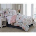 Geneva Home Amour Set: Queen 8-Piece/Pink