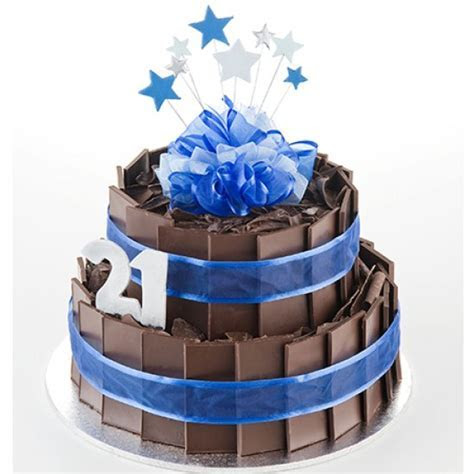 Chocolate Explosion Cake   Two Tiers