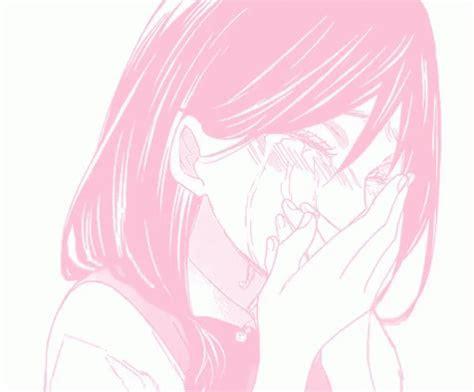 pink aesthetic sad anime girl indias wallpaper