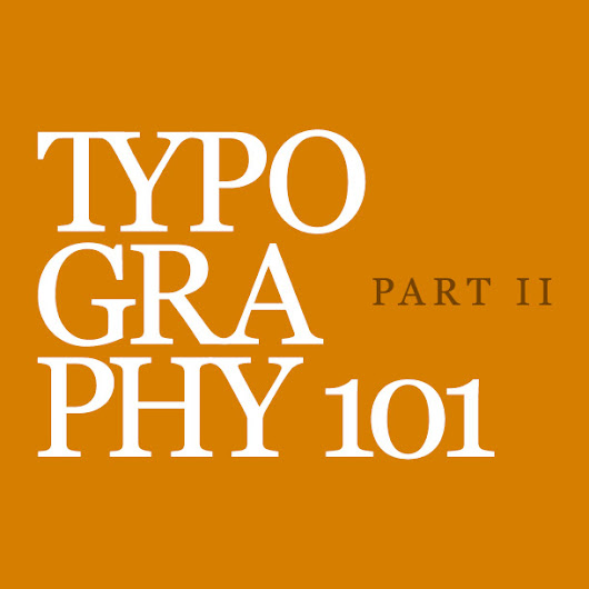 Learning the Basics of Typography: Anatomy of Letters