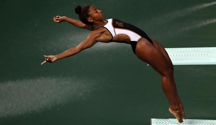 Jennifer Abel saltos ornamentais Rio 2016 (Foto: EFE)