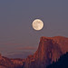 Half Dome, Full Moon
