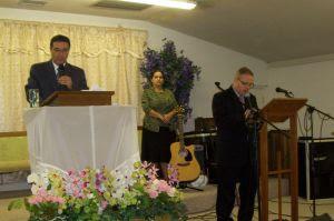 Missionários Ezequiel Elias e Luis Cesar
