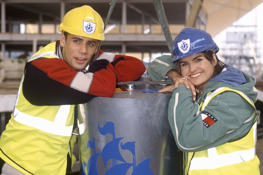 Builders smash open Blue Peter time capsule 33 years early