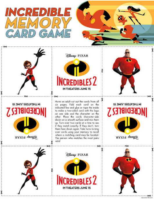 Incredibles 2 Mega Fun Pack - Family Review Guide