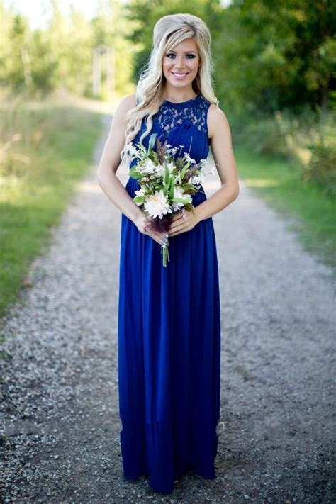 Country Bridesmaid Dresses 2017 Long For Wedding Royal
