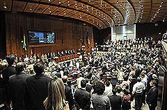 Sessão Solene no Plenário 20 de Setembro instalou a 54ª Legislatura