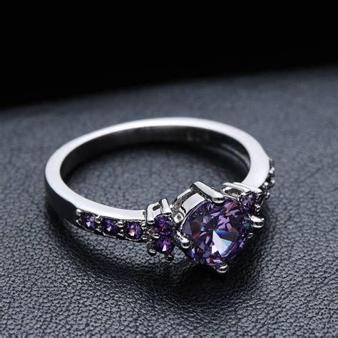 2019 Latest Purple Wedding Bands