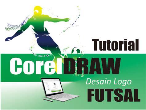 membuat desain logo futsal  coreldraw
