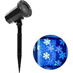 Philips Snowflake Patterns Christmas LED Motion Projector - White/Blue