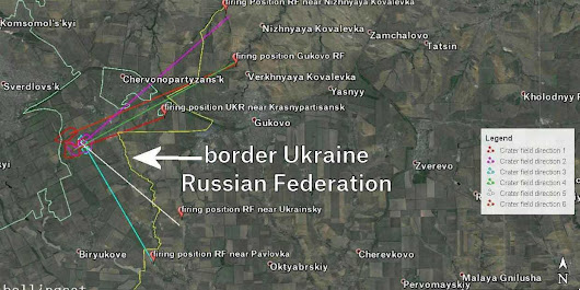 Proof that Russia shelled Ukrainian troops and took control of the rebel-held border