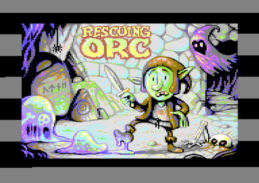 Commodore 64: Rescuing Orc -
