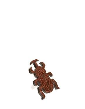 Image 1 ofLimited Edition Adjustable Glitter Beetle Ring