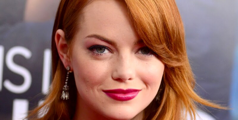 Wine Stained Lips-just bittin Trend- Emma Stone