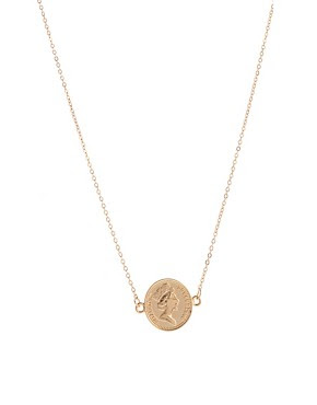 Image 1 of ASOS Coin Necklace