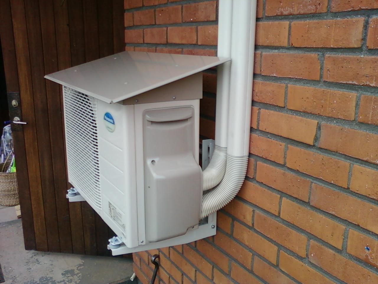 installera luft luft värmepump