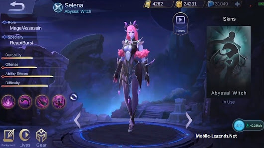 Selena Features | Mobile Legends