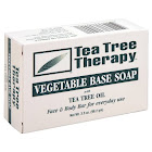 Tea Tree Therapy Vegetable Base Soap with Tea Tree Oil - 3.5 oz bar