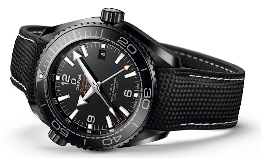 The OMEGA Planet Ocean Deep Black Is Here