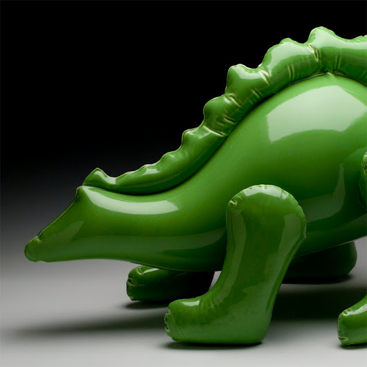 Ceramic Sculptures by Brett Kern Look Like Inflatable Toys