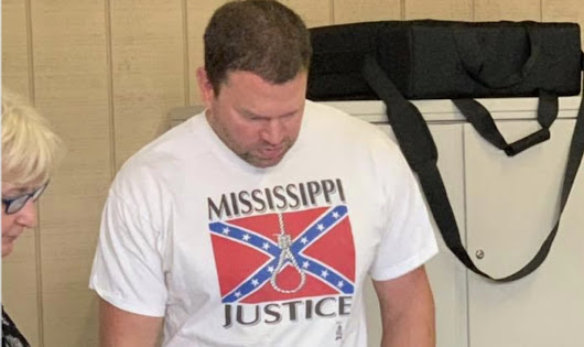 Hospital Fires Worker Who Wore Confederate Flag Shirt With Noose To Go Vote