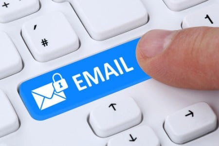 Some in-house legal departments use encrypted emails to communicate with their law firms