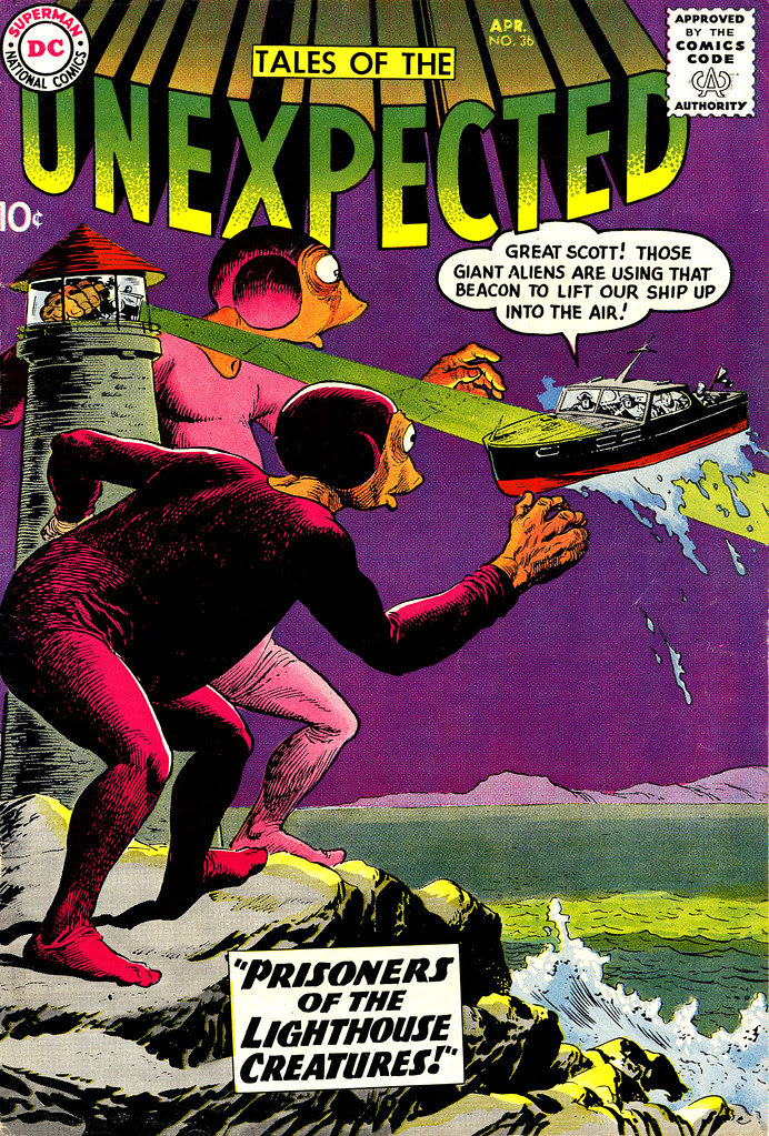 Tales of the Unexpected #36 (DC, 1959) Lee Elias cover
