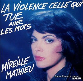 MATHIEU, MIREILLE la violence celle qui tue avec les mots