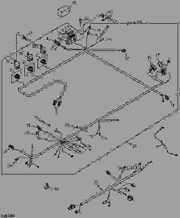 33 John Deere 250 Skid Steer Wiring Diagram