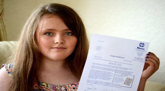 #YoungGenius - 12 Year Old Girl Who Has IQ Score More Than Albert Einstein And Stephen Hawking