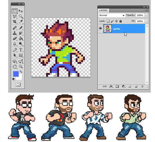 Create pixel art of your choice for $12