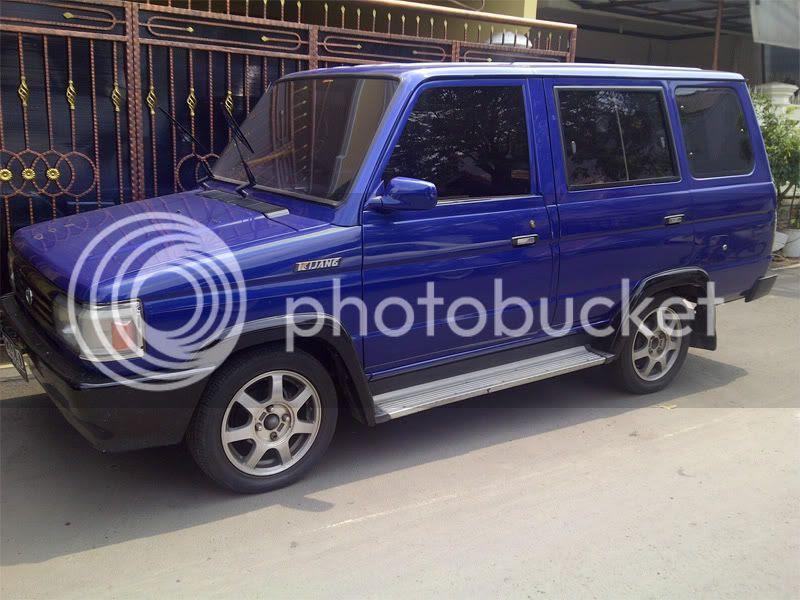 WTS : Toyota Kijang Grand Extra SHORT '93 Biru