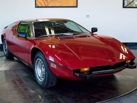 1973 Maserati Bora collector vehicle for sale discounted near Denver
