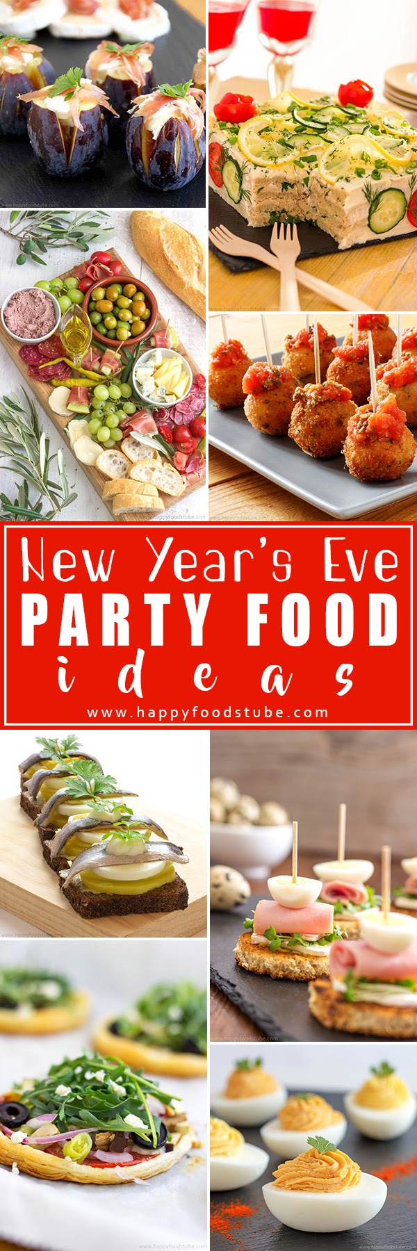 New Years Eve Party Food Ideas Happy Foods Tube