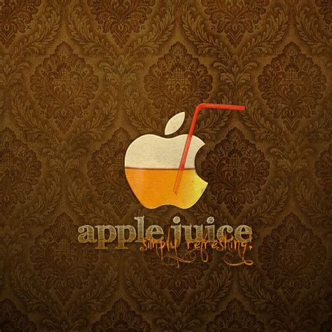 apple juice ipad wallpaper background  theme