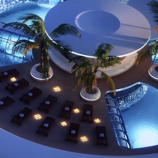 Luxury sun deck